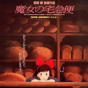 Kiki's Delivery Service is listed (or ranked) 8 on the list The Best Anime Movies of All Time