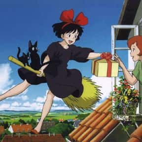 Kiki's Delivery Service is listed (or ranked) 22 on the list Which Anime Universe Would You Want To Live In?