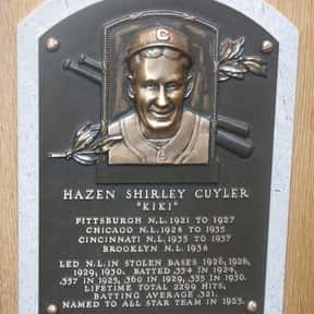 Kiki Cuyler is listed (or ranked) 10 on the list The Best Pittsburgh Pirates of All Time