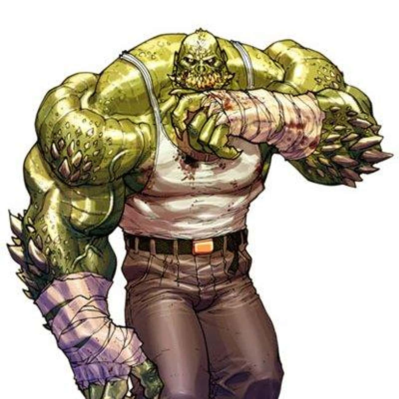 Killer Croc is listed (or ranked) 4 on the list The Best Comic Book Characters Who Have Yellow Eyes