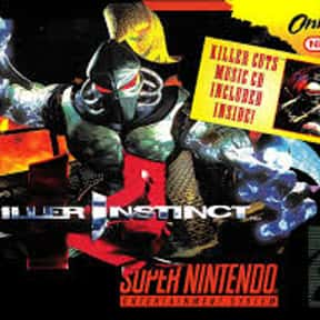Killer Instinct is listed (or ranked) 6 on the list The Best Fighting Games of All Time