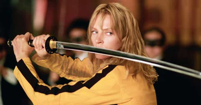 Kill Bill Volume 1 is listed (or ranked) 1 on the list 14 Movie Props Used in Multiple Movies