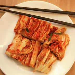 Kimchi is listed (or ranked) 16 on the list The Worst Foods to Eat on a Date