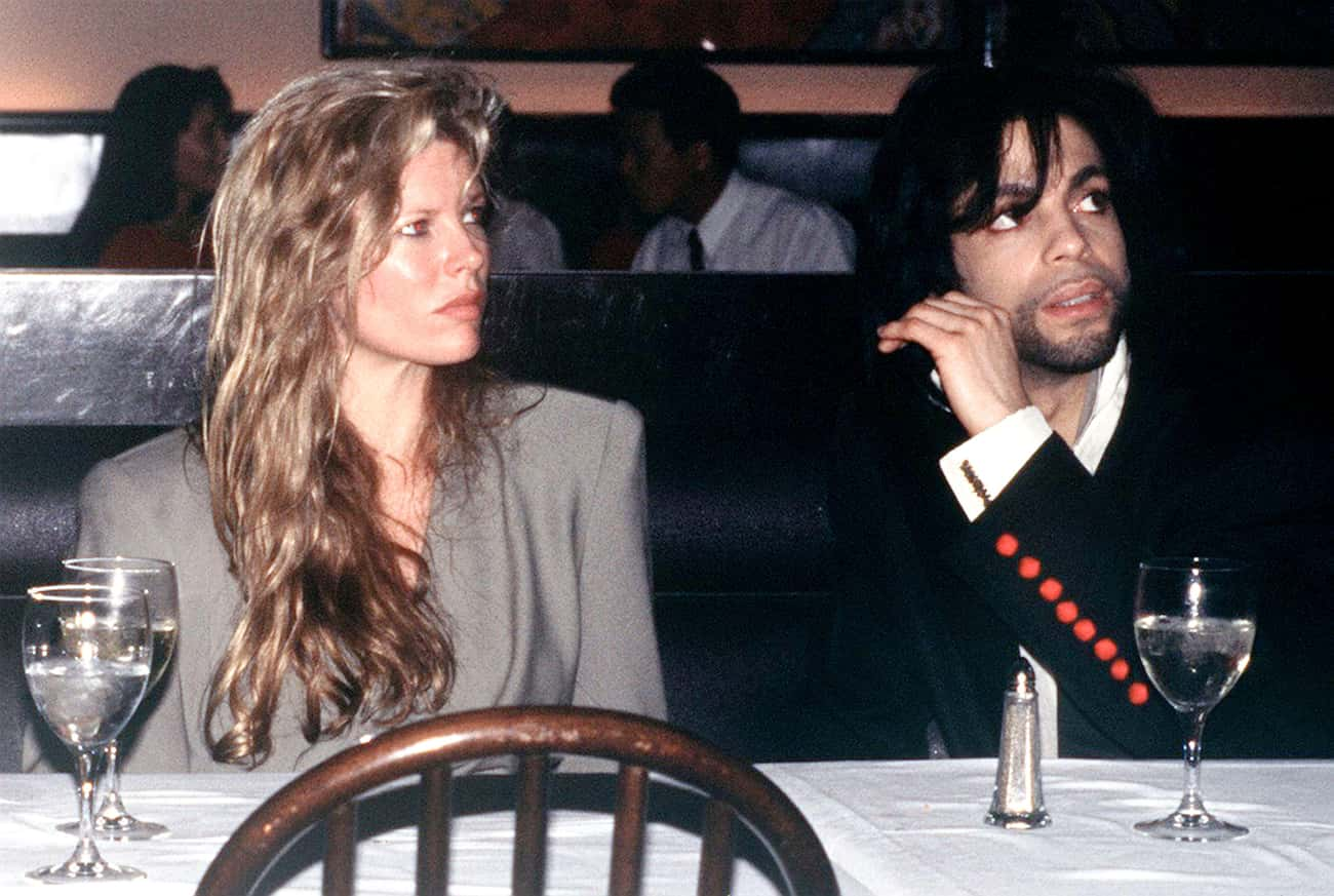 Kim Basinger is listed (or ranked) 3 on the list Women Who Prince Has Dated