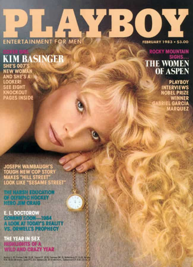 Kim Basinger is listed (or ranked) 1 on the list Celebrities Who Appeared on the Playboy Cover