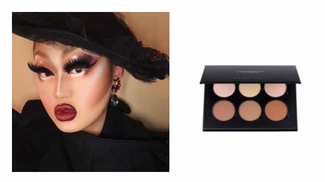 Kim Chi is listed (or ranked) 3 on the list Your Favorite Drag Queens' Go-To Makeup Products