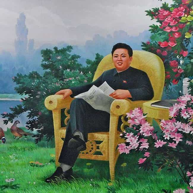 Kim Jong-il is listed (or ranked) 2 on the list Bizarre Stuff You Never Knew Dictators Collected