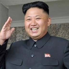 Kim Jong-un is listed (or ranked) 9 on the list List of Famous Dictators