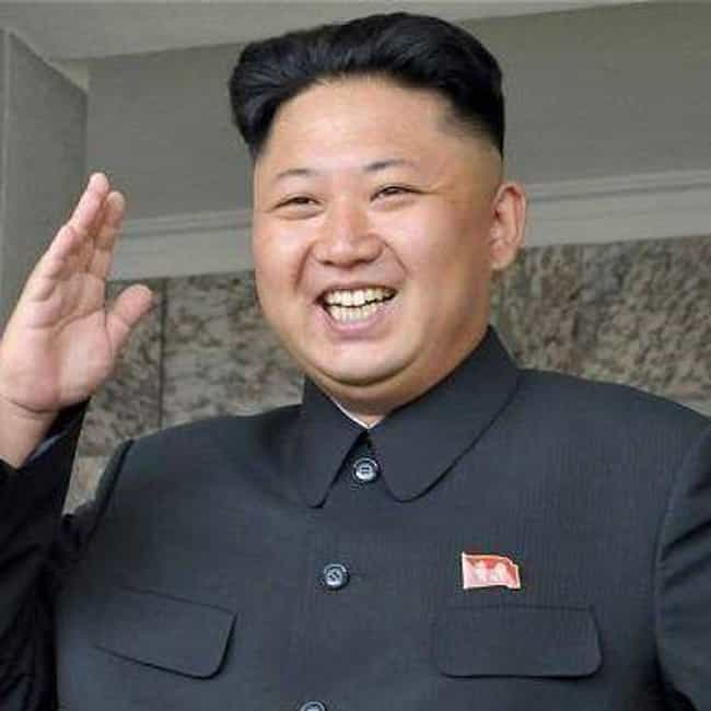 Kim Jong-un is listed (or ranked) 3 on the list Bizarre Obsessions of Dangerous Dictators
