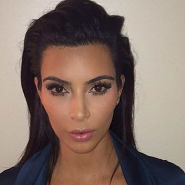 Kim Kardashian is listed (or ranked) 2 on the list Celebrity Passport Photos