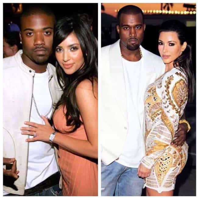 Kim Kardashian is listed (or ranked) 3 on the list 16 Celebrities Who Definitely Have a Type