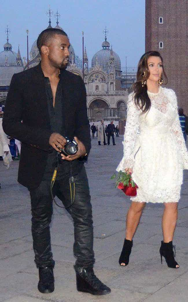 Kim Kardashian is listed (or ranked) 1 on the list Famous White Women Who Married Black Men