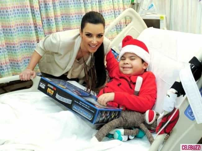 Kim Kardashian is listed (or ranked) 1 on the list 52 Celebrities Who Have Visited Their Fans in the Hospital