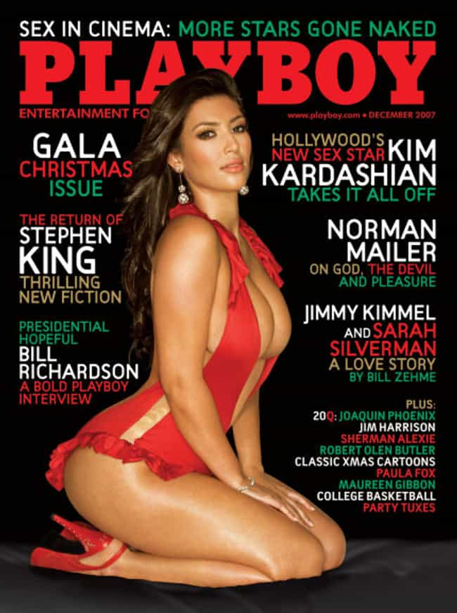 Kim Kardashian is listed (or ranked) 2 on the list Celebrities Who Appeared on the Playboy Cover