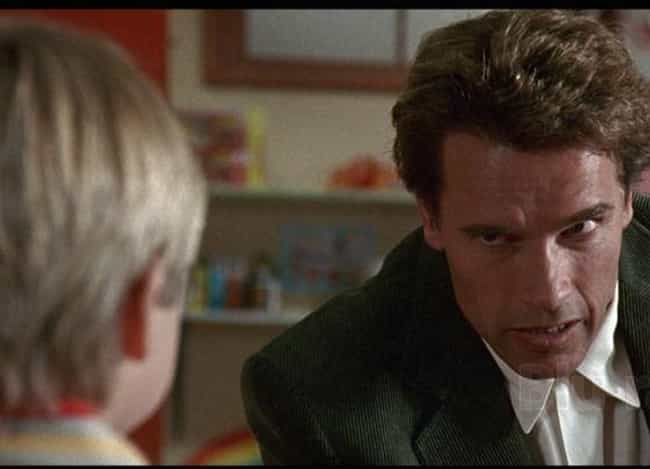 Kindergarten Cop is listed (or ranked) 2 on the list 16 Examples Of Shoddy Police Work In Films That Are Downright Laughable