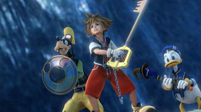Kingdom Hearts is listed (or ranked) 2 on the list The 13 Most Bizarre Crossovers In Gaming History