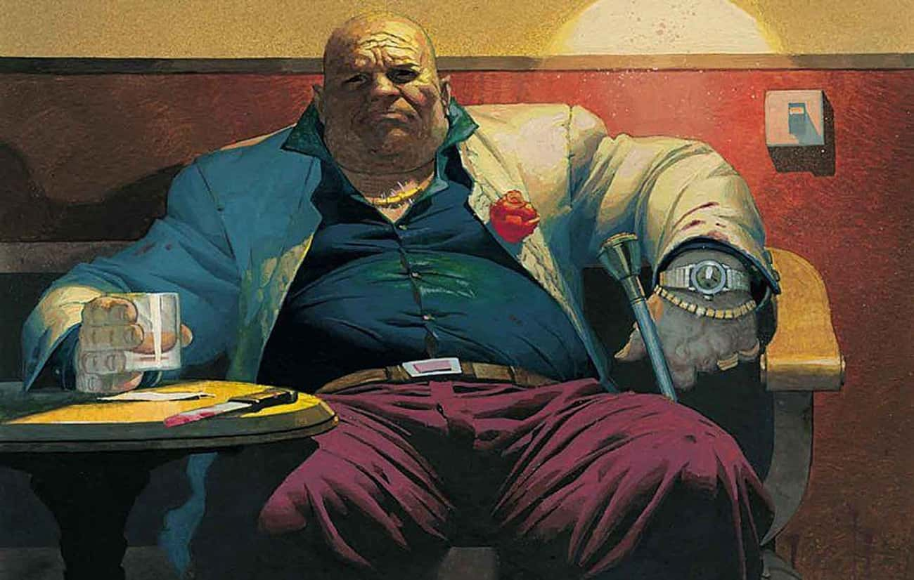 Kingpin is listed (or ranked) 4 on the list Heavyset Comic Book Characters That Are Surprisingly Nimble
