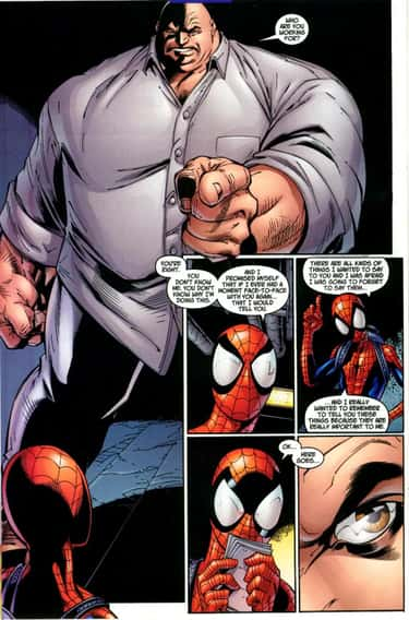 Kingpin is listed (or ranked) 2 on the list The Best Overweight Characters in Comics