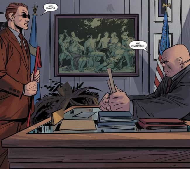 Kingpin is listed (or ranked) 1 on the list A Surprising Amount Of Marvel Characters Have Run For Political Office