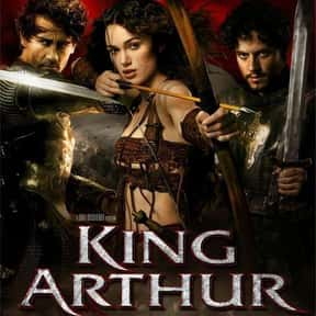 King Arthur is listed (or ranked) 8 on the list The Best Knight Movies