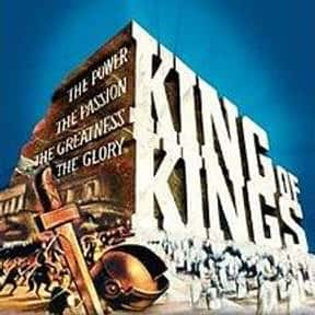 King of Kings is listed (or ranked) 8 on the list The Greatest Movies About Jesus Christ, Ranked