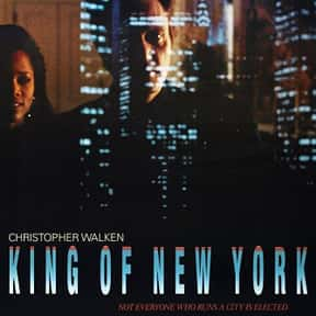 King of New York is listed (or ranked) 8 on the list The Best Gangster Movies of the 1990s