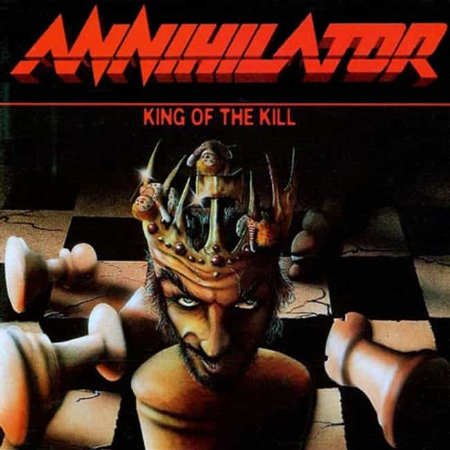 King of the Kill is listed (or ranked) 4 on the list The Best Annihilator Albums of All Time