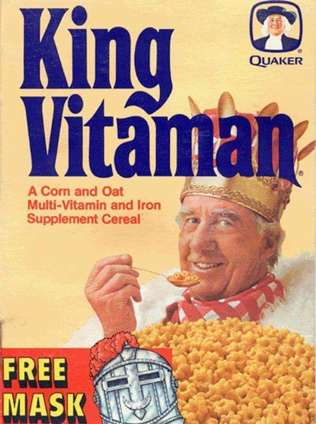 King Vitaman is listed (or ranked) 2 on the list The Worst Cereals That Time Forgot