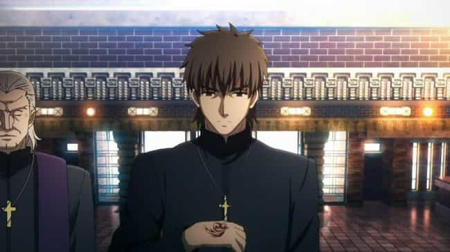 Kirei Kotomine is listed (or ranked) 4 on the list 15 Good Anime Characters Who Broke Bad And Became Villains