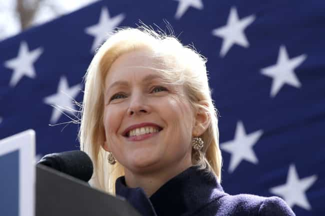 Kirsten Gillibrand is listed (or ranked) 8 on the list All The 2020 Democratic Candidates' First Jobs