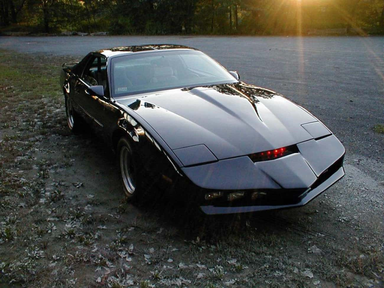 KITT is listed (or ranked) 3 on the list 23 Cars You Wish You'd Had as a Kid