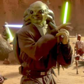 Kit Fisto is listed (or ranked) 5 on the list Which 'Star Wars' Character Is The Best Skateboarder?