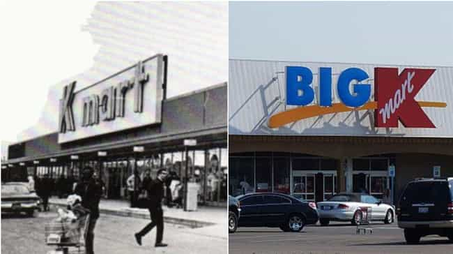 Kmart is listed (or ranked) 3 on the list How Storefronts Evolved Over Time