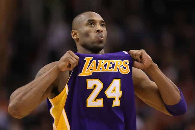 Kobe Bryant is listed (or ranked) 3 on the list Athletes Who Are Definitely Introverts