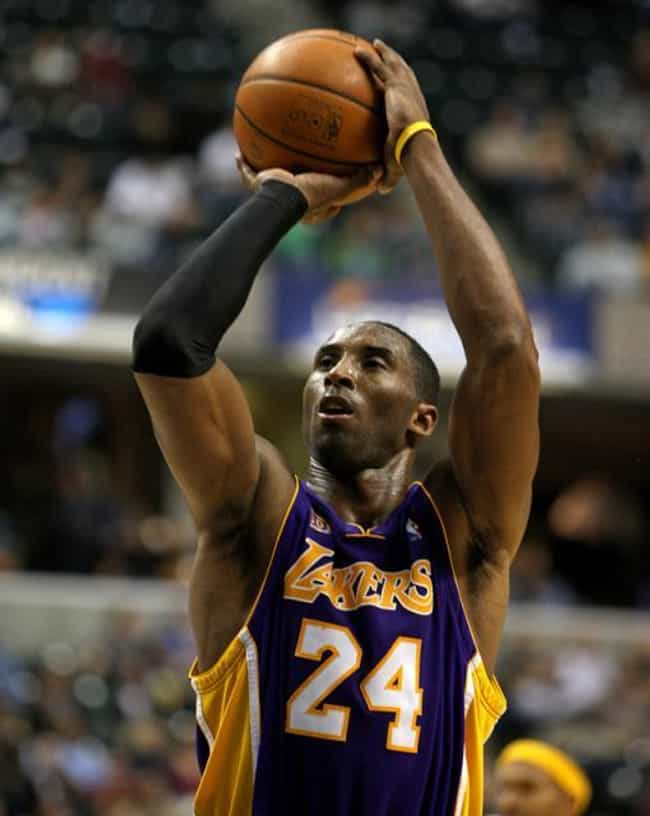 Kobe Bryant is listed (or ranked) 1 on the list 26 Celebrities Who Are Ambidextrous