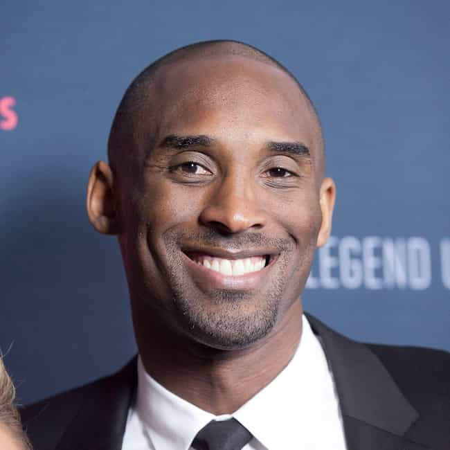 Kobe Bryant is listed (or ranked) 4 on the list Famous Male Athletes