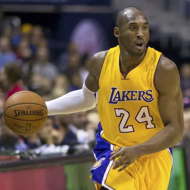 Kobe Bryant is listed (or ranked) 1 on the list The Best Athletes Who Wore #24