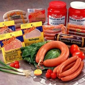 Koegel Meat Company is listed (or ranked) 9 on the list The Hottest Hot Dog Brands Ever