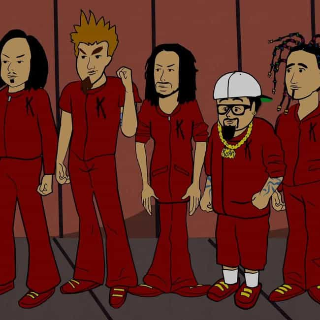 Korn's Groovy Pirate Gho... is listed (or ranked) 3 on the list The Best Halloween Episodes On 'South Park'