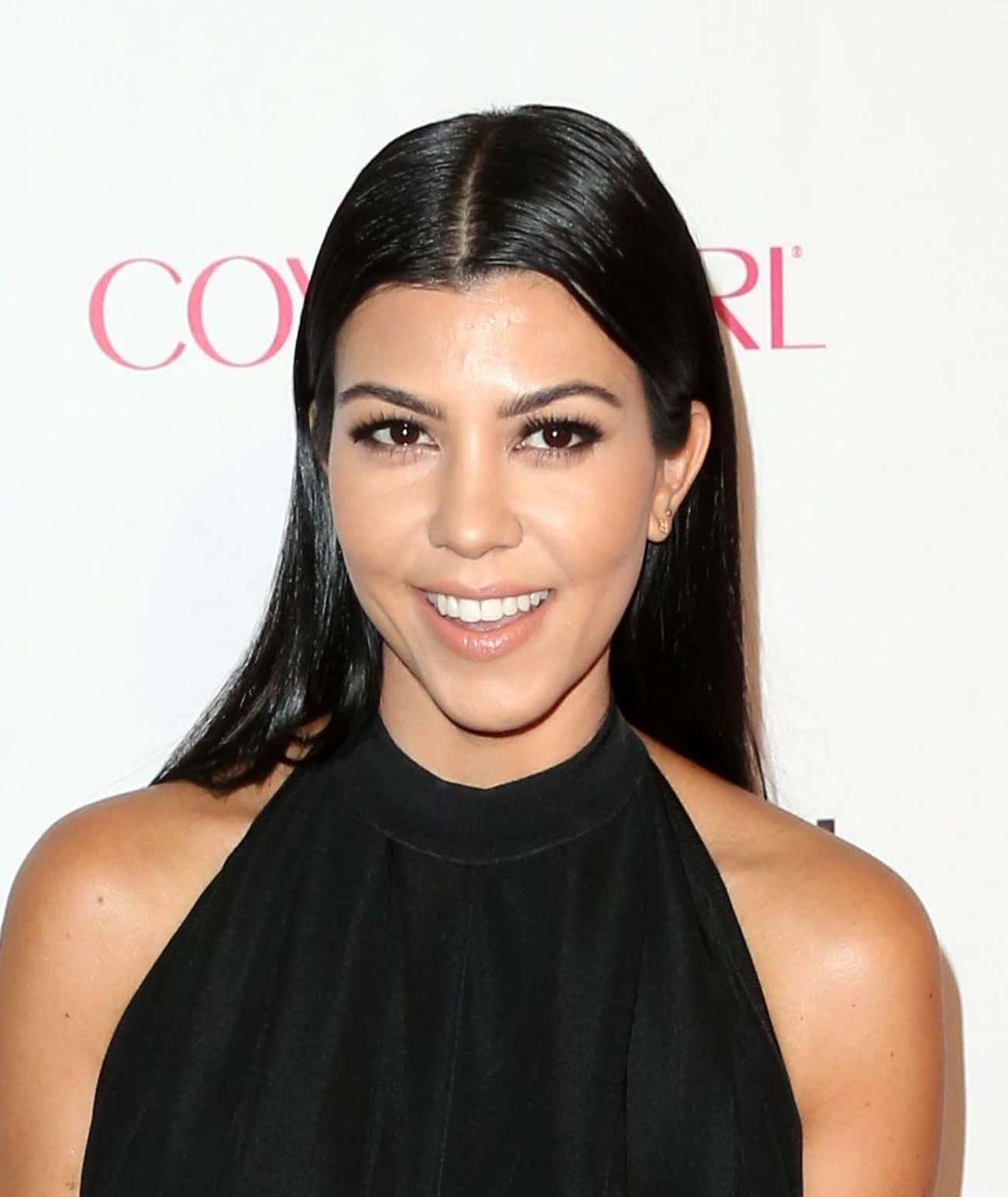 Kourtney Kardashian is listed (or ranked) 4 on the list The Most Beautiful Members Of The Kardashian Family