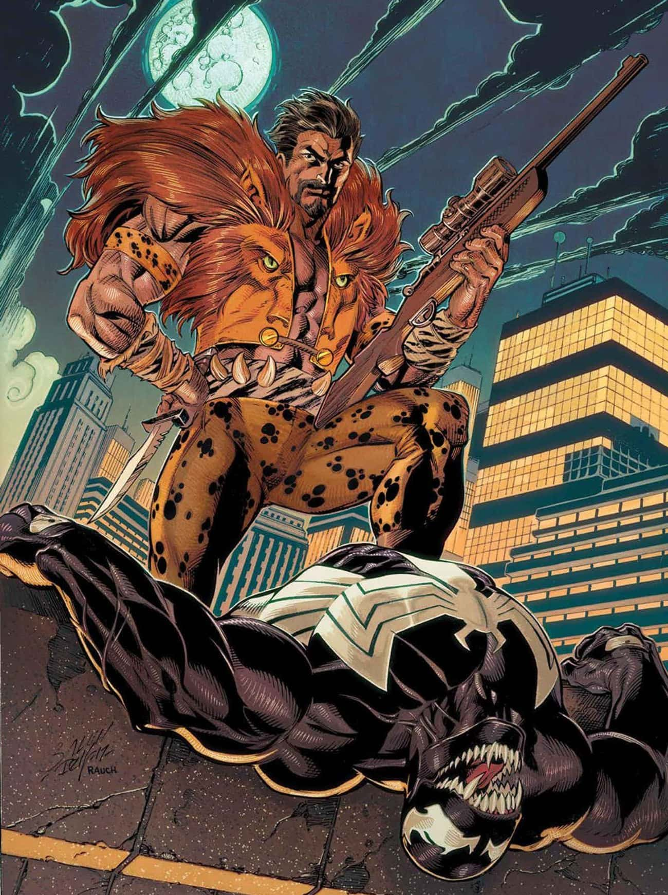 Kraven The Hunter, Spider-Man' is listed (or ranked) 3 on the list The Biggest Superheroes And Villains Who Have Never Appeared In Live-Action
