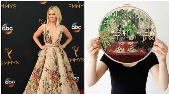 Kristen Bell is listed (or ranked) 3 on the list Everything Hollywood's Finest Looked Like at the 2016 Emmys