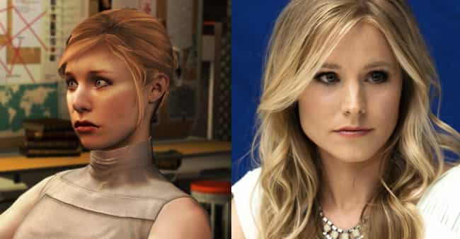 Kristen Bell is listed (or ranked) 4 on the list 24 Huge Celebrities Who Secretly Voiced Your Favorite Video Game Characters