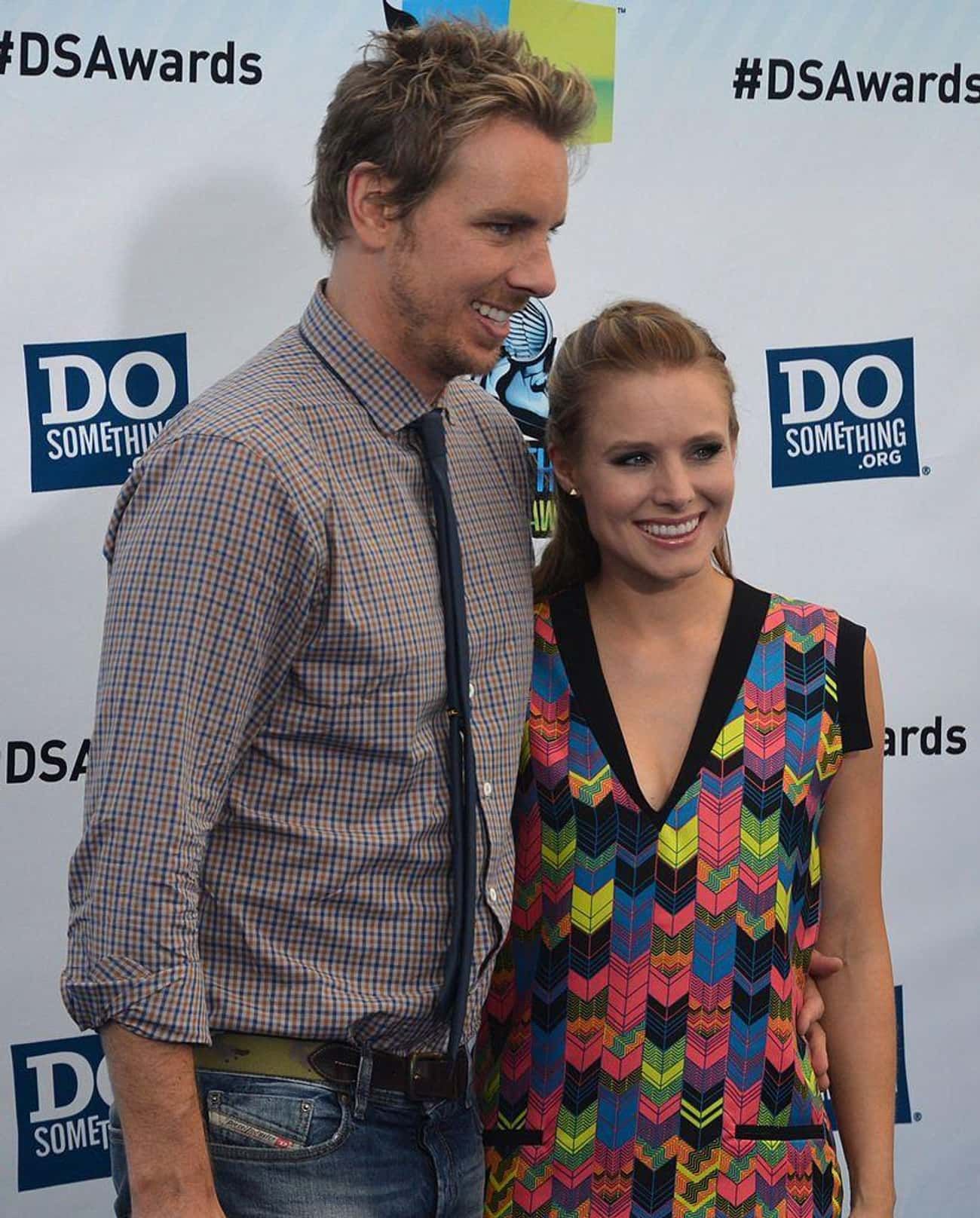 Kristen Bell and Husband Dax S is listed (or ranked) 2 on the list 24 Celebs Who Love 'Game of Thrones' As Much As You Do