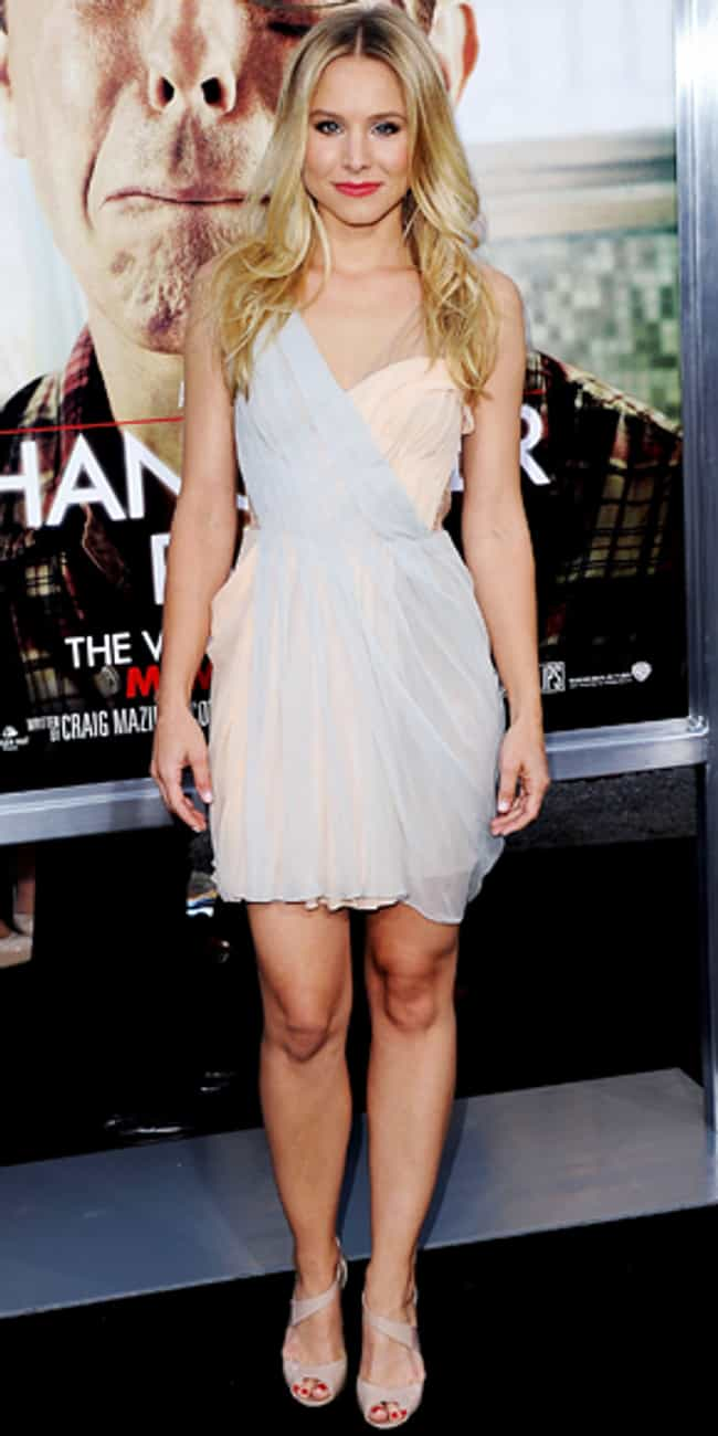 Kristen Bell is listed (or ranked) 1 on the list J. Mendel Dressed on Celebrities