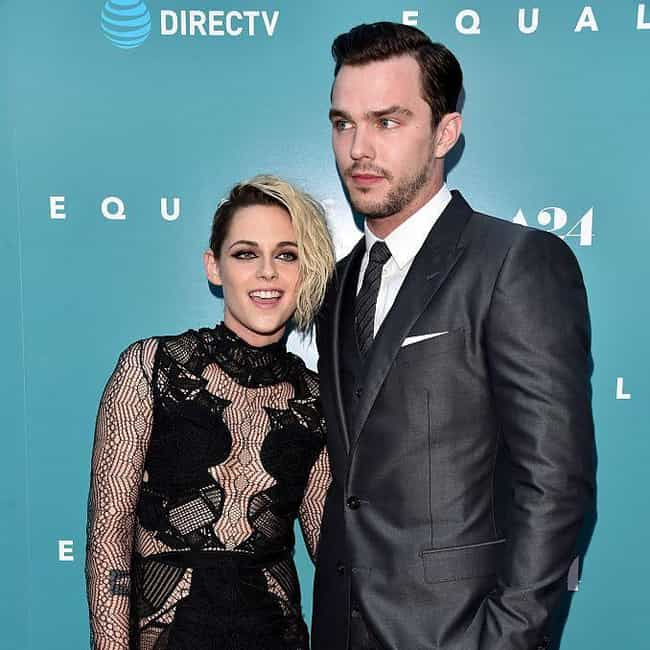 Kristen Stewart is listed (or ranked) 2 on the list Nicholas Hoult Loves and Hookups