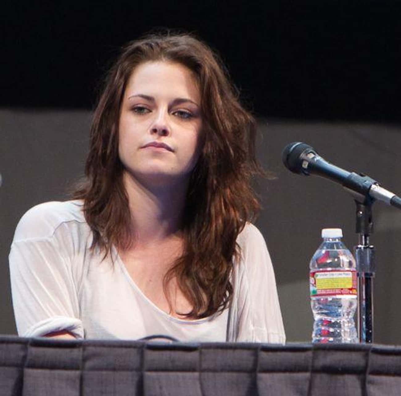Kristen Stewart is listed (or ranked) 2 on the list Resting Bitch Face: Who Does It Best?
