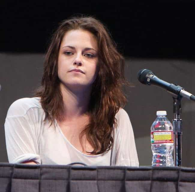 Kristen Stewart is listed (or ranked) 1 on the list Resting Bitch Face: Who Does It Best?