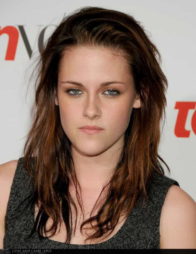 Kristen Stewart is listed (or ranked) 3 on the list Resting Bitch Face: Who Does It Best?