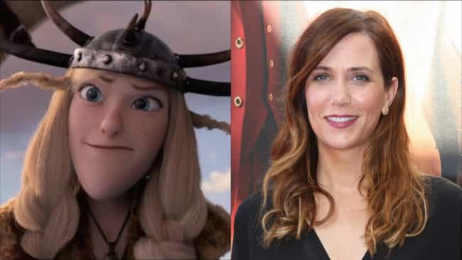 Kristen Wiig is listed (or ranked) 4 on the list Here's Where You've Heard Everyone In 'How To Train Your Dragon' Before